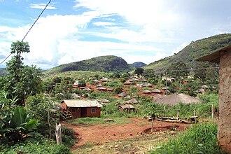 Zambezia Province - Image: COSV Mozambico 2010 Distretti di Gilè e Pebane Villaggio
