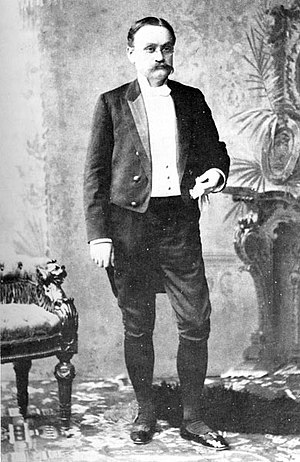 Clifton R. Breckinridge - U.S. Minister Clifton R. Breckinridge at the coronation of Nicholas II of Russia in 1896 wearing the ceremonial knee breeches he was uncomfortable in.
