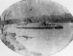 Horace King (architect) - King was conscripted to assist in the construction of Confederate ironclads, including this ship, the CSS Muscogee.