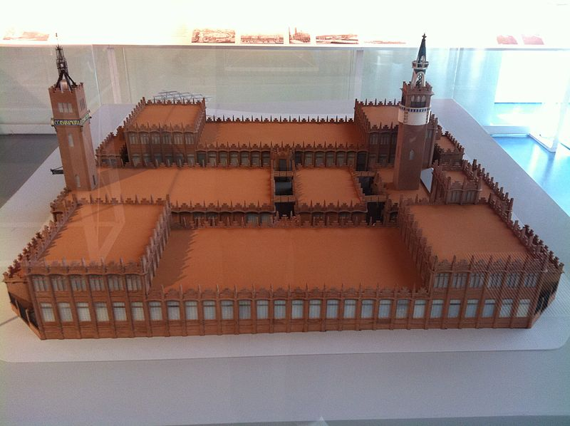 File:CaixaForum Barcelona - maqueta.JPG