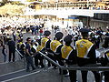Cal Band on Lower Sproul before 2008 Big Game pregame rally 4.JPG