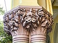 Calcutta High Court - Sculptured on the pillar 15.jpg