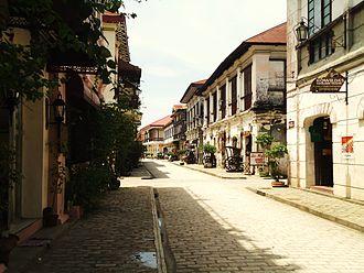 Ilocos Region - Image: Calle Crisologo, Vigan Ilocos Sur