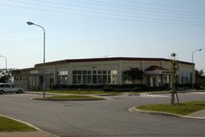 Michael Brown Okinawa assault incident - Camp Courtney Mess Hall