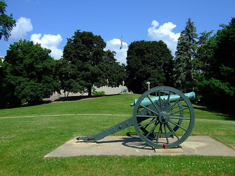 File:Camp Randall cannon.jpg