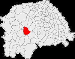 Vị trí của Câmpulung Moldovenesc