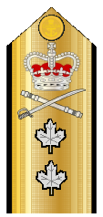 Rear admiral - Image: Canadian Rear Admiral Shoulder Board