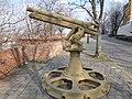Cannon. - Anjou Bastion (promenade). Buda Castle Quarter, Budapest.JPG