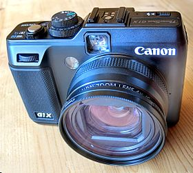 image illustrative de l'article Canon PowerShot G1 X