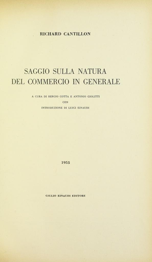 Archivo cantillon essai sur la nature du commerce en for C du commerce