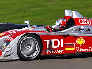 Rinaldo Capello - Capello driving the Audi R10 TDI at the 2008 1000 km of Silverstone