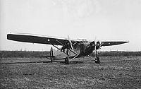 Caproni Ca. 101 bombázó (Olasz festéssel). Fortepan 17579.jpg