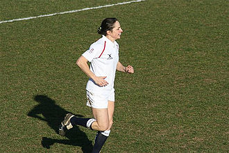England women's national rugby union team - Sue Day