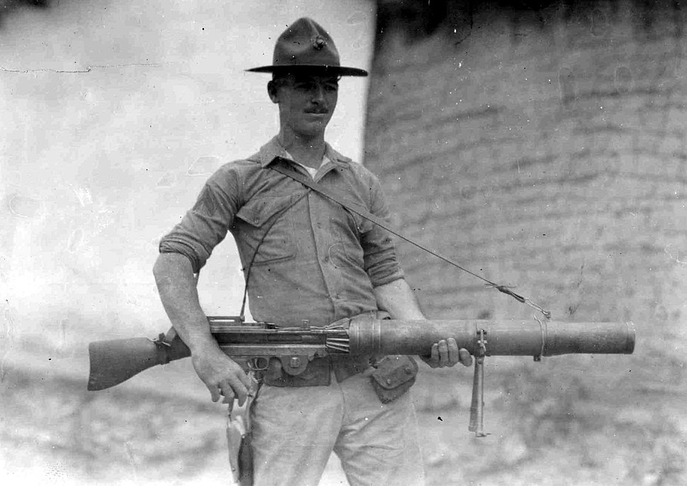 Captured Lewis Machine Gun