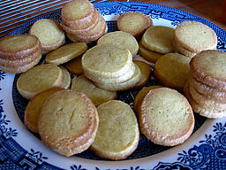 Cardamom shortbread cookies, November 2008