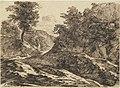 Carl Friedrich Ludwig Felix von Rumohr, A Path through a Hilly Landscape, 1831, NGA 139200.jpg
