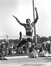 Carl Lewis as a University of Houston athlete