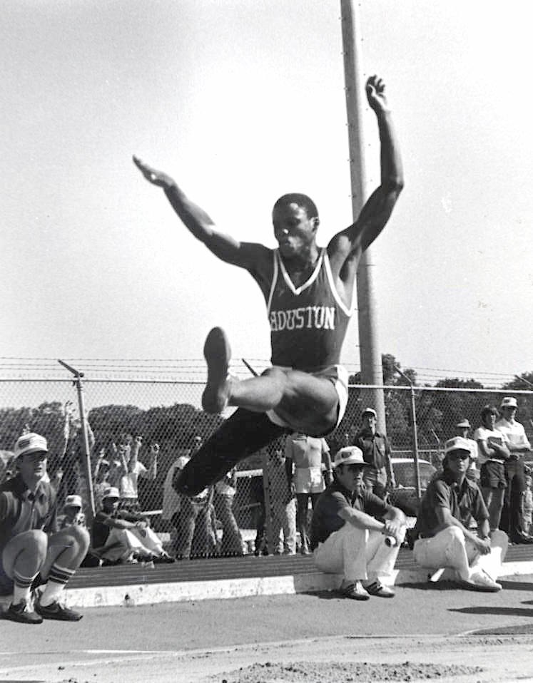 Carl Lewis as a University of Houston athlete