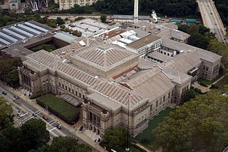 Carnegie Museum of Natural History - As seen from the 36th floor of the Cathedral of Learning.