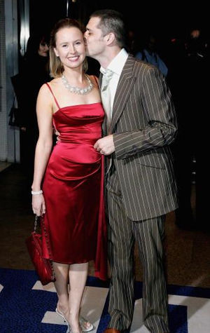 Caroline Carver (actress) - Carver with Kenny Doughty in 2010