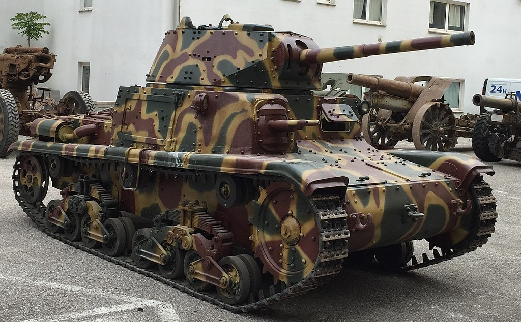 M15/42 at Saumur Museum