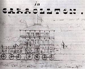 1835 in rail transport - New Orleans & Carrollton Rail Road, Louisiana, 1835.