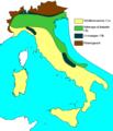 Carte climatique de l'Italie.PNG