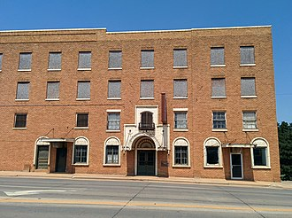 National Register of Historic Places listings in Beckham County, Oklahoma - Image: Casa Grande Hotel Elk City