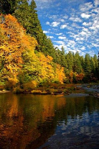 Cascadia State Park - Image: Cascadia State Park (Linn County, Oregon scenic images) (linn DA0067b)