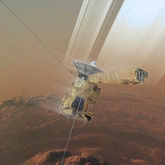 Cassini retirement - Image: Cassini's Grand Finale (37230499535)
