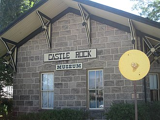 Castle Rock, Colorado - Castle Rock Museum (2010)