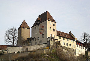 Burgdorf, Switzerland - The Burgdorf castle, first built in 1175, now contains a museum founded in 1886.