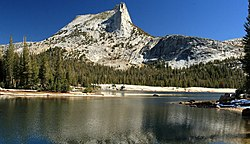 Cathedral Peak and Lake in Yosemite.jpg