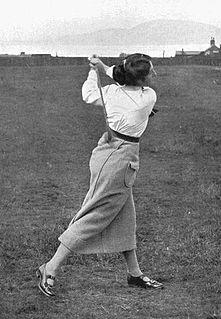 Cecil Leitch Amateur golfer
