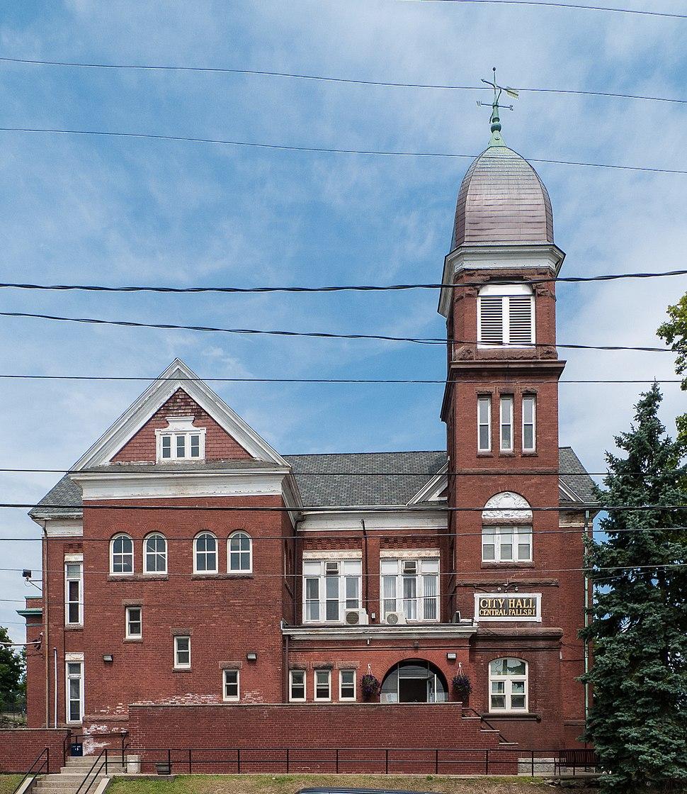 Central Falls Rhode Island City Hall