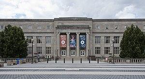Central High School (Columbus, Ohio) - Entrance