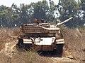 Centurion and Shot tanks in Israeli service, Golan Heights, 2017 02.jpg
