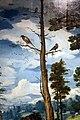 Cerchia di jan van hemessen (forse maestro di paolo e barnaba), cacciata dal paradiso terrestre, 1500-60 ca. 11 uccelli.jpg