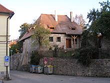 Renesanční dům ve čtvrti Plešivec.
