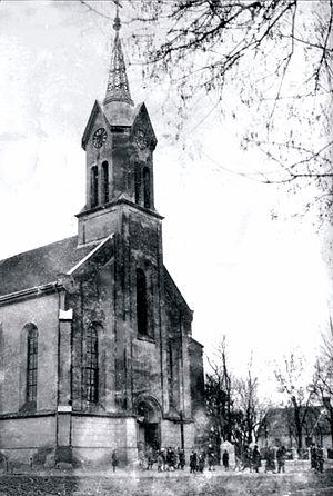 Čestereg - Image: Cestereg church 1910