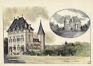 Arros-de-Nay - The Chateau of Arros in 1926