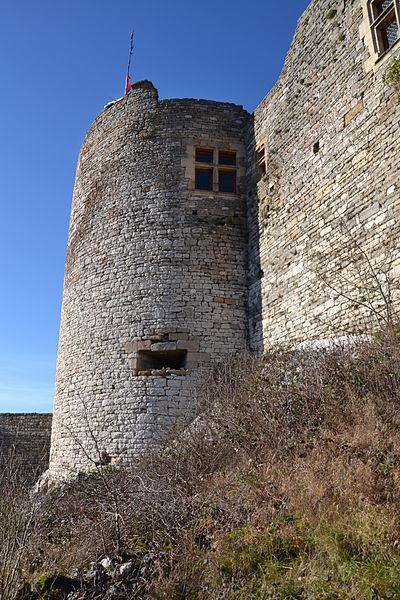 Castle of Mâlain, Burgundy, France