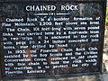 Chained Rock historical marker.jpg