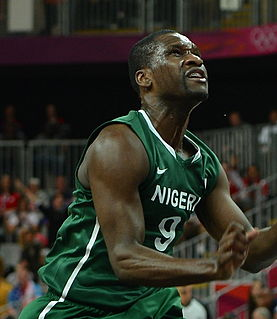 Chamberlain Oguchi Nigerian/American professional basketball player