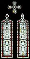 Champniers-Reilhac église Champniers vitraux transept (1).JPG