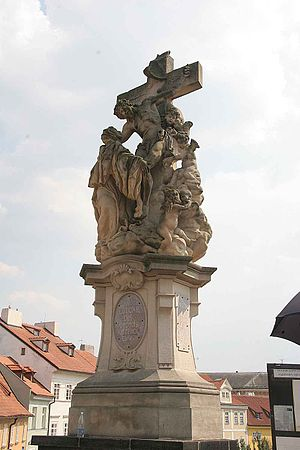 Lutgardis - Statue of Lutgardis on the Charles Bridge.