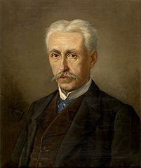 De heer Meyer, vader van mevrouw Van Soom
