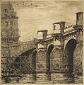 Charles Meryon, Pont-Neuf, Paris, 1853 n2.jpg