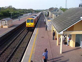 Charleville railway station - Charleville railway station in 2008