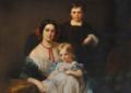 Charlotte Fould (1826-1917), marquise de Breteuil, avec deux de ses enfants.png